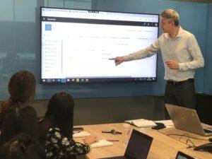 Power BI training at Excellab (Singapore)